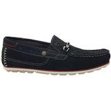 Sapato Sapatênis Pegada 40306 05 Nobuck Marinho Cd380