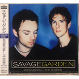 Savage Garden   Affirmation: The B Sides   Cd Lacrado Japan