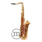 Saxofone Tenor Laqueado Bb Milano Custom Sax Si Bemol Loja !