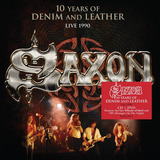 Saxon  10 Years Of Denim And Leather  live   Digipak Cd dvd