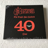 Saxon Cd The Eagle Has Landed 40 Live Importado