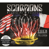 Scorpions   Return To Forever   Tour Edition   Cd   2 Dvds