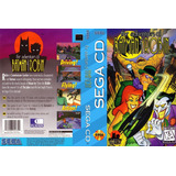 Sega Cd The Adventures Of Batman And Robin