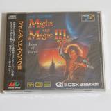 Sega Mega cd   Might And Magic 3 Japonês Lacrado Novo