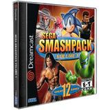 Sega Smashpack Volume 1 Sega Dreamcast Cd Rom
