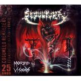 Sepultura   Morbid Visions   Cd Digipack Edição 25 Anos