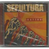 Sepultura   Nation   Cd Novo