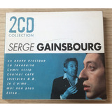 Serge Gainsbourg 2cd Collection   Cd Duplo Importado