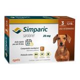 Simparic 20mg 5 A 10kg C/3 Comprimidos