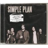 Simple Plan   2008  1ª Edição Cd Novo Lacrado De Fábrica