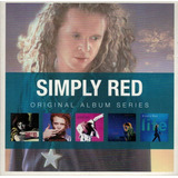 Simply Red   Original Album Series Box Com 5 Cds Novo Raro L