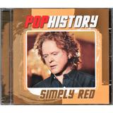 Simply Red Cd Pop History Novo Lacrado