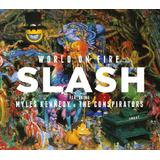 Slash World On Fire   Cd Rock