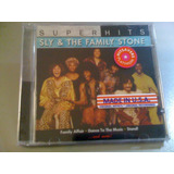 Sly & The Family Stone Super Hits Cd Lacrado U s a Importado