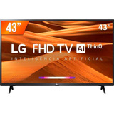 Smart Tv Led Pro 43'' Full Hd LG 43lm 631 3 Hdmi 2 Usb Wifi