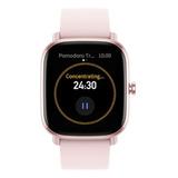 Smartwatch Amazfit Fashion Gts 2 Mini 1.55 Caixa De Liga De Alumínio Pulseira Flamingo Pink De Silicone A2018