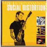 Social Distortion   Box Com 3 Cds Lacrado