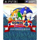 Sonic The Hedgehog 4 Ps3 Episode 2 Infantil Crianças Digital