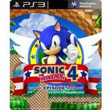 Sonic The Hedgehog 4 Ps3 Jogos Infantil Crianças Digital Psn