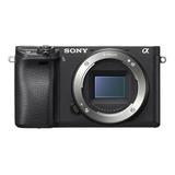 Sony Kit Alpha 6400 + Lente Selp1650 Mirrorless Cor Preto