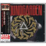 Soundgarden Badmotorfinger   Importado Japonês   Audioslave