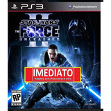 Star Wars The Force Unleashed 2 Ps3 Psn Midia Digital