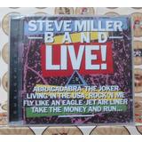 Steve Miller Banda   Live  Cd Novo Lacrado