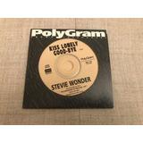 Stevie Wonder Cd Single Promo Kiss Lonely Good bye 1996 Raro