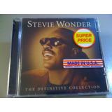 Stevie Wonder The Definitive Collection Cd Lacrado Importado