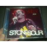 Stone Sour Cd   Dvd Hellfest Open Air 2018 Slipknot Corey
