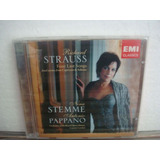 Strauss  Stemme & Pappano   Four Last Songs     Cd Importado