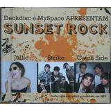 Sunset Rock Cd Jullie Strike Catch Side  Rock Nacional