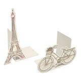 Suporte Aparador De Livro Dvd Cds   Paris Torre Eiffel