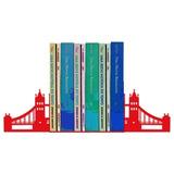 Suporte Aparador De Livros Dvd Cd Decorativo Ponte Londres