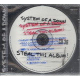 System Of A Down Steal This Album 2002 Metal Cd lacrado br