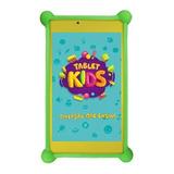 Tablet Com Capa Dl Kids C10 Tx394bbv 7 8gb Branco/amarelo Com Memória Ram 1gb