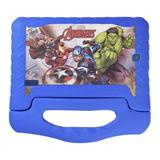 Tablet Multilaser Disney Vingadores Plus 7 16gb Azul Com Memória Ram 1gb