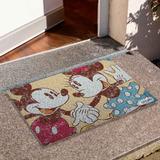 Tapete Capacho Divertido Mickey Minnie Vintage Disney Cd1179