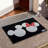 Tapete Capacho Divertido Minnie E Mickey Disney Cd1168
