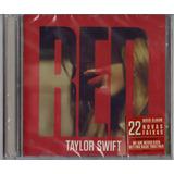 Taylor Swift   Red Cd Duplo Original Novo Lacrado