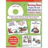 Teaching Tunes Cd With Mini books Set Favorite Songs