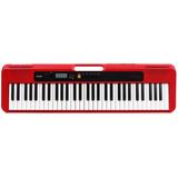 Teclado Casiotone Ct-s200 Casio 61 Teclas Musical Vermelho