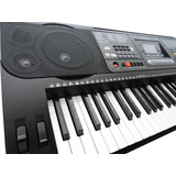Teclado Musical 61 Teclas Hk-812- Profissional Sensitive Usb