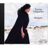 Teresa Salgueiro Obrigado   Novo Lacrado Original