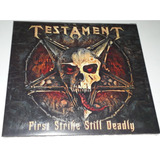 Testament   First Strike Still Deadly  cd Digipak