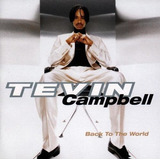Tevin Campbell Cd Back To The World Funk Black Dance Raro
