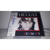 The Cult   Ceremony 1st Issue Very Rare Japan