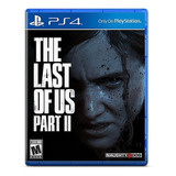 The Last Of Us Part Ii Standard Edition Sony Ps4 Físico