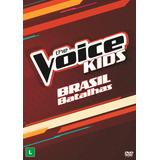 The Voice Brasil Kids   Batalhas   Dvd