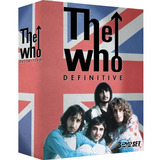 The Who Definitive   Box Com 3 Dvds